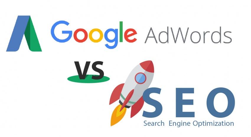 quảng cáo google ADS và SEO